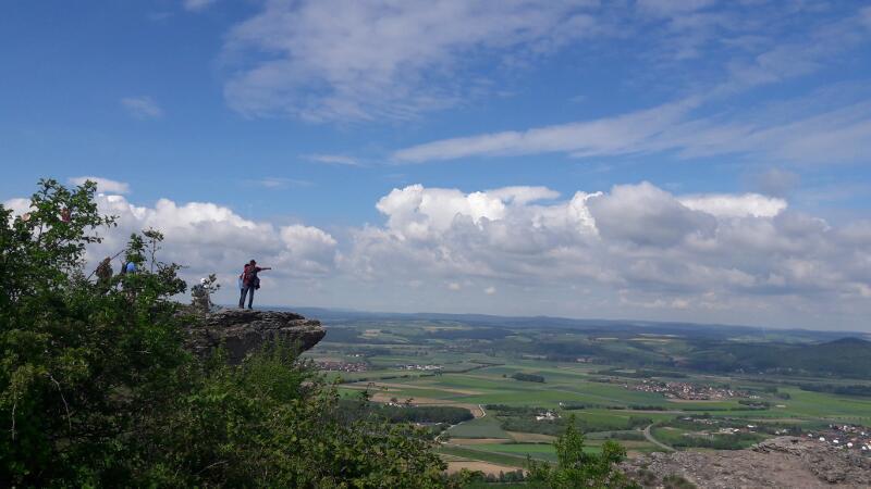 Ausblick vom Staffelberg