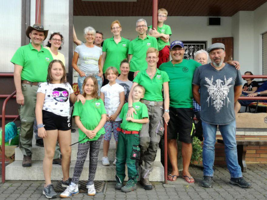 Sailaufer Wanderfreunde zu Gast am See
